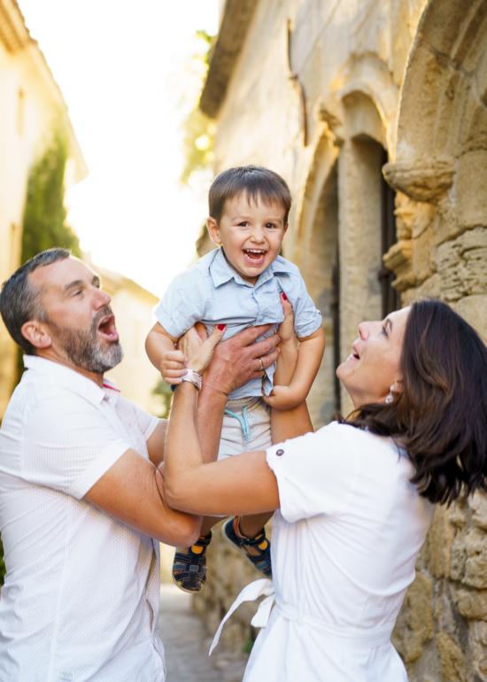séance photo famille provence aix ansouis
