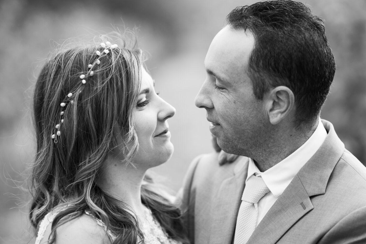 couple d'amoureux lors d'un mariage à Pertuis