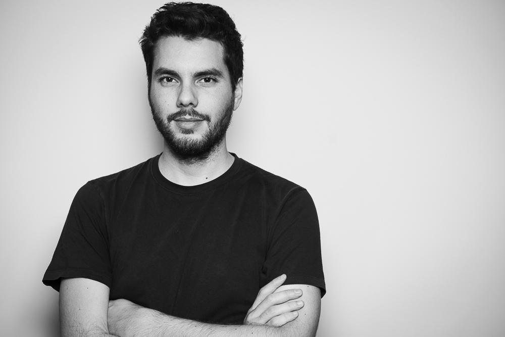 Portrait du photographe Vincent B